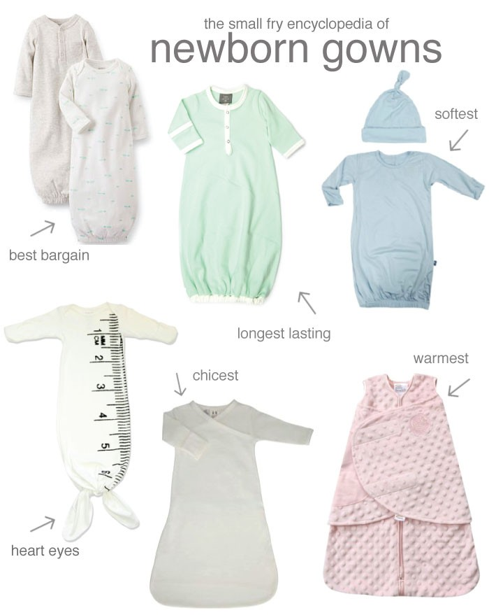 Favorite Newborn Gowns