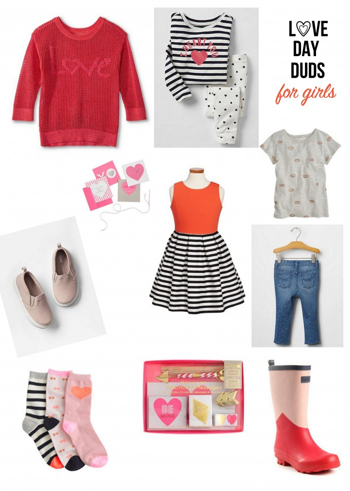 valentine's clothing for girls