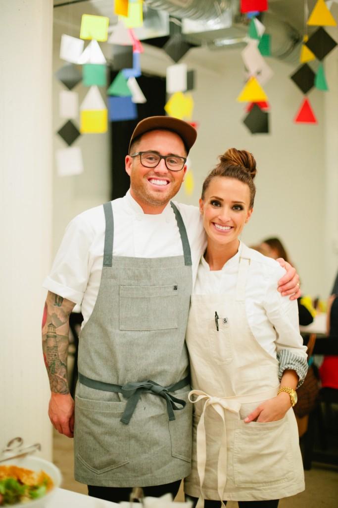 Chefs Marco & Aubrey Niccoli
