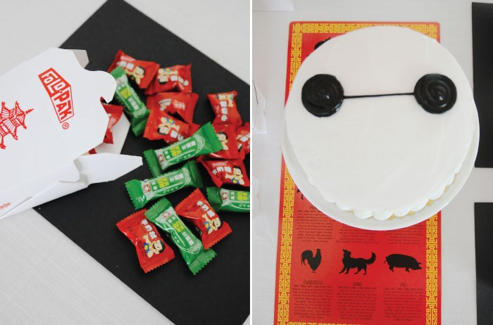 Big Hero 6 Party: Baymax Cake