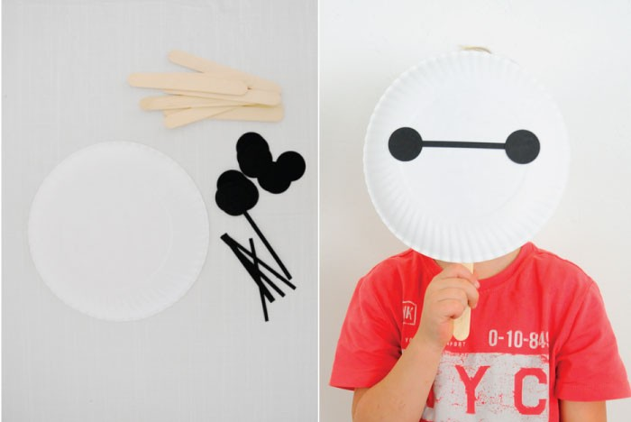 Big Hero 6 Party : Baymax Mask DIY