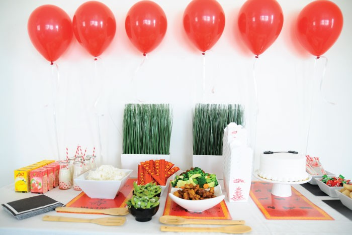 Big Hero 6 Party: Dinner Spread