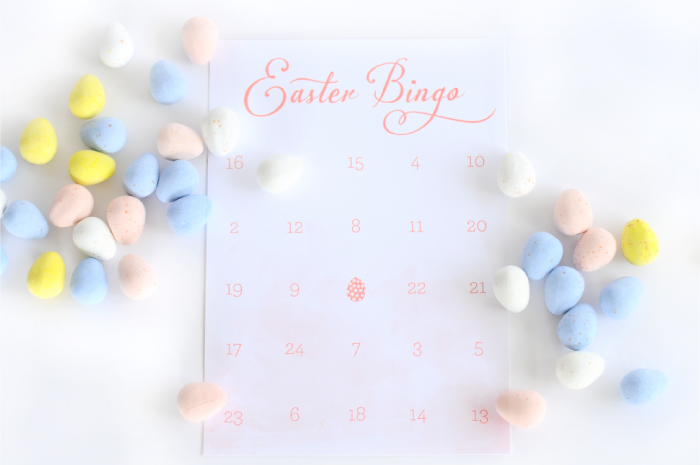 Easter Printables - Bingo