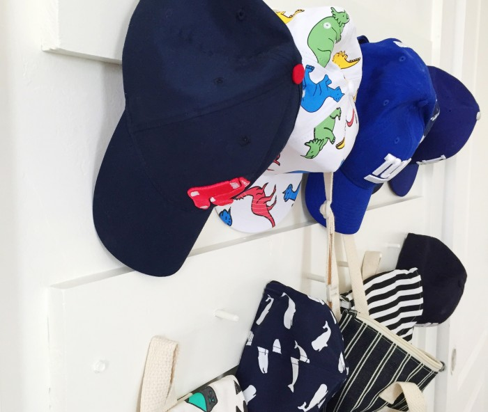 hat rack DIY