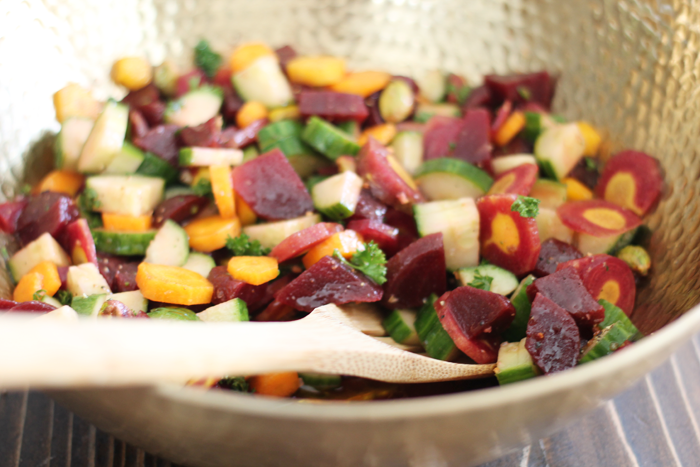 Wild Carrot & Beet Salad Recipe