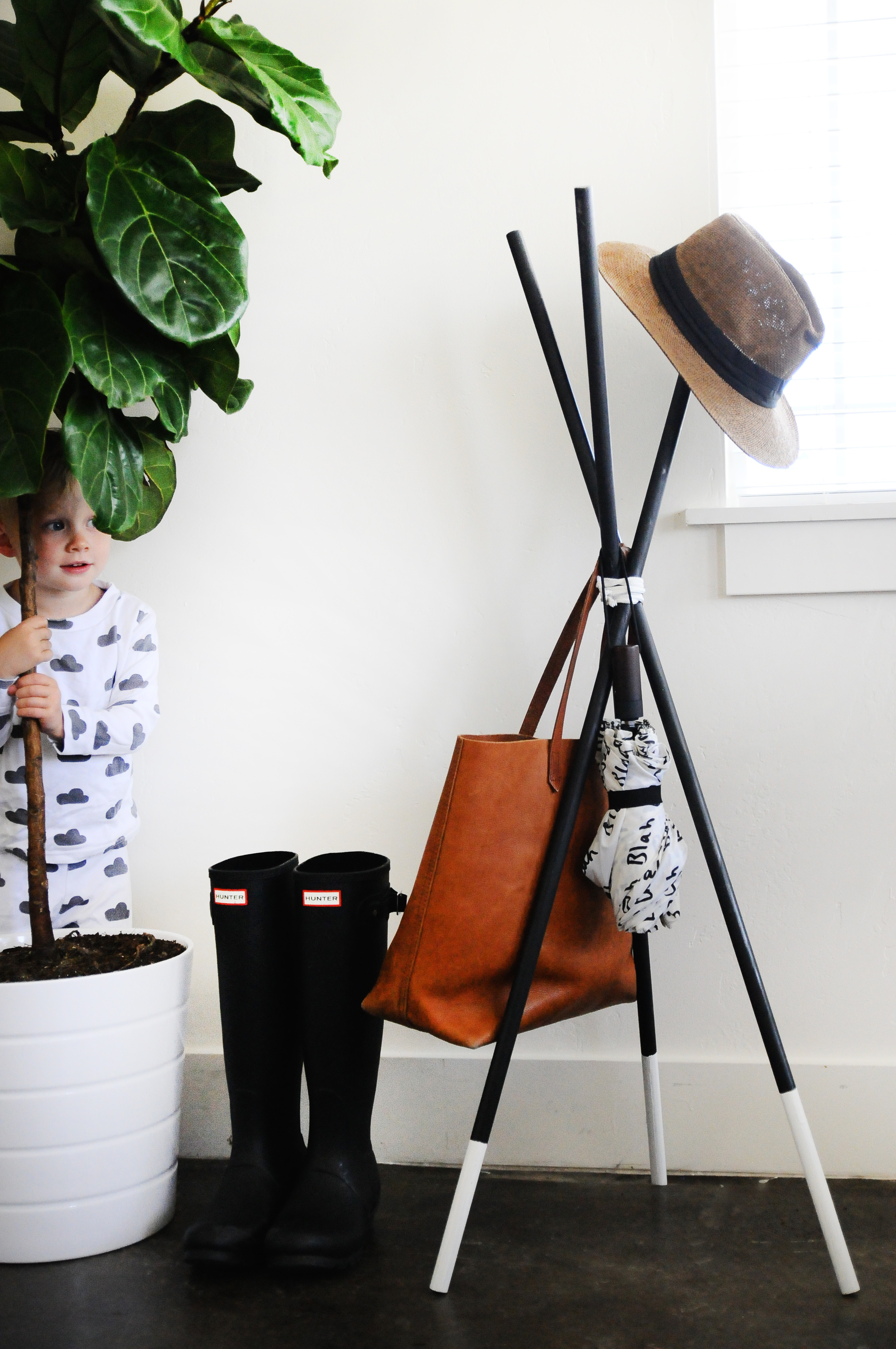 Collapsable Coat Rack Diy Small Fry