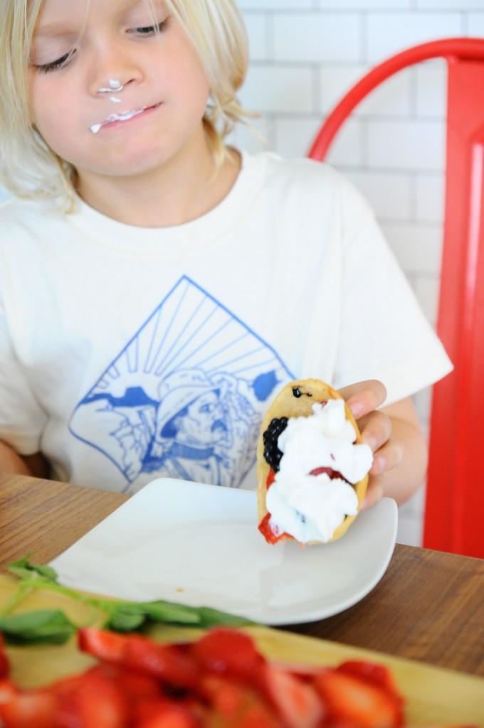 Dessert Tacos 4 Ways