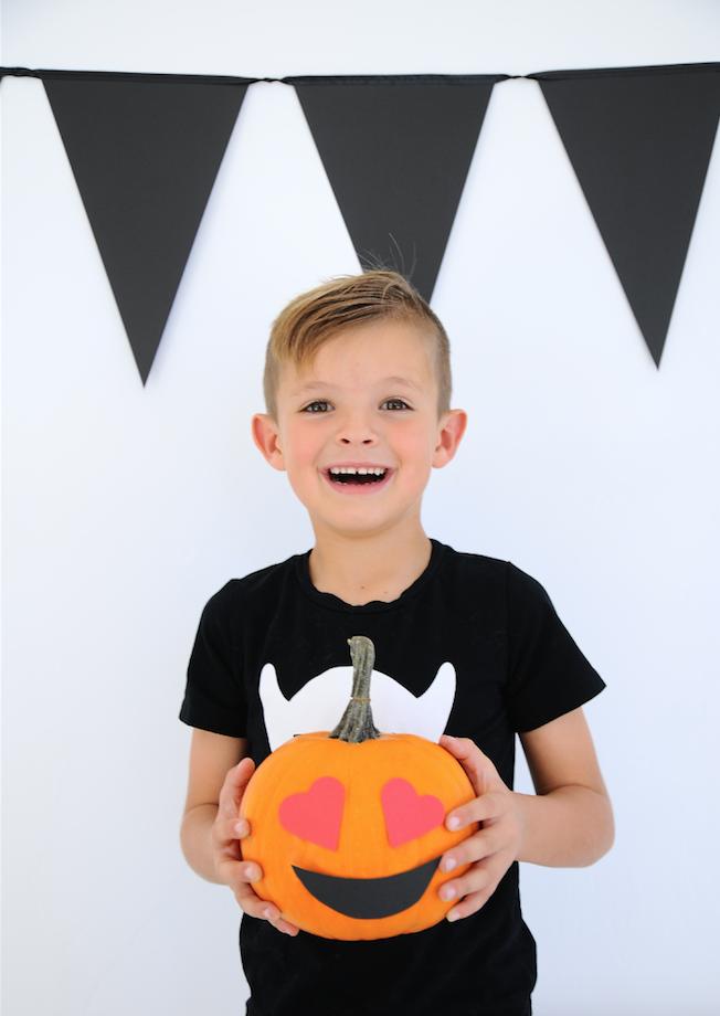 Emoji Pumpkins