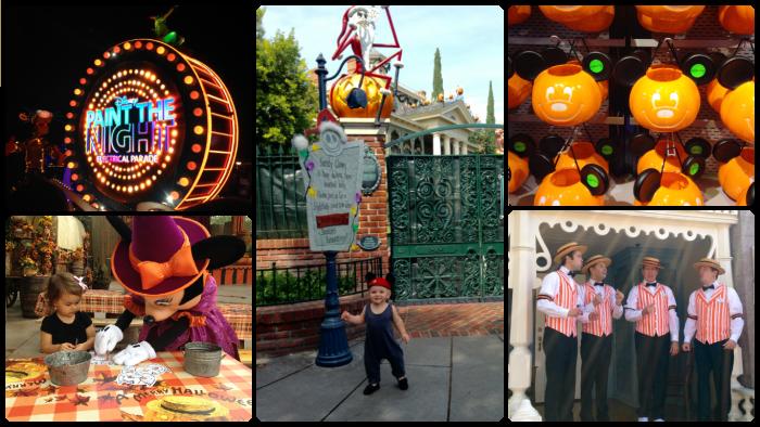 Fall Favorites at Disneyland