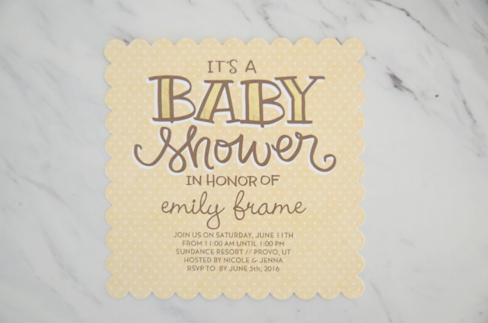Gender Neutral Shower Ideas