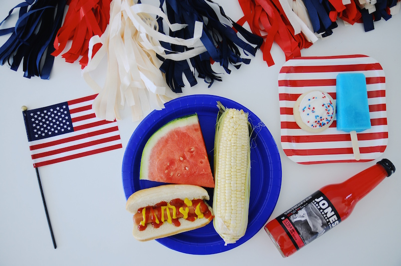 Patriotic Party Spread
