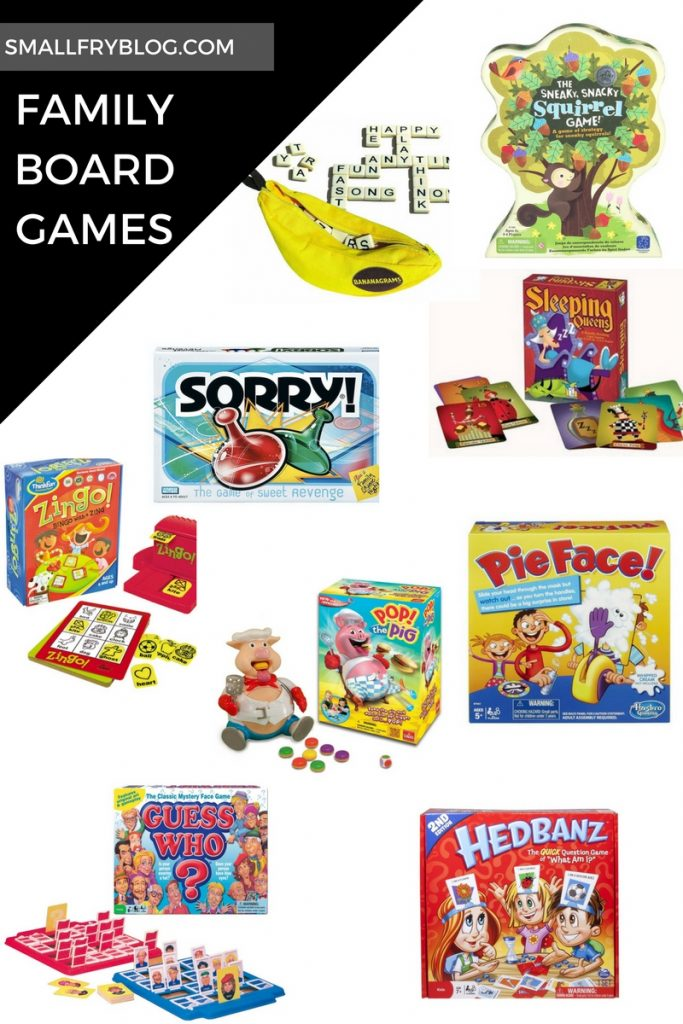 What are some good family board games?