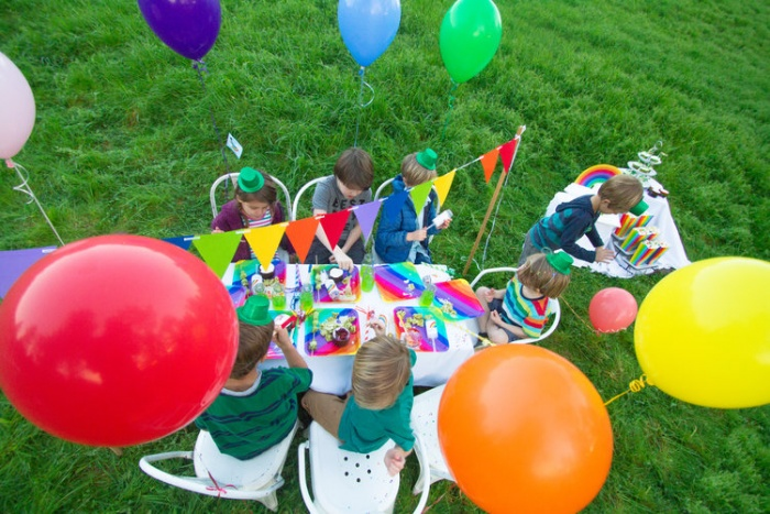 St. Patrick's Day Rainbow Party