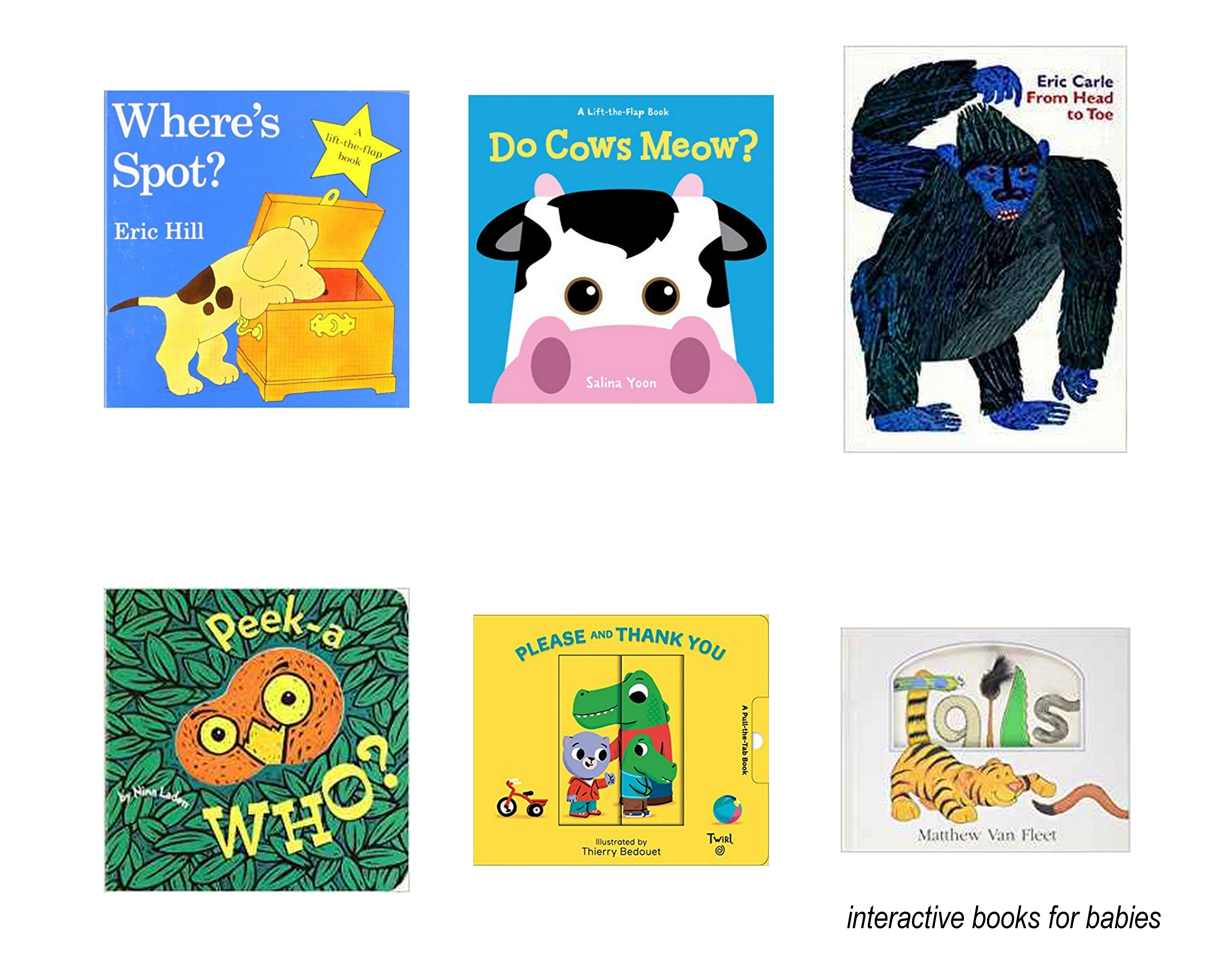 Interactive Books for Toddlers