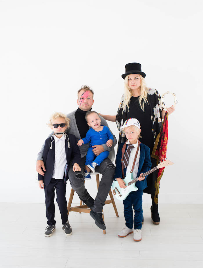 Rock and Roll Family Costume