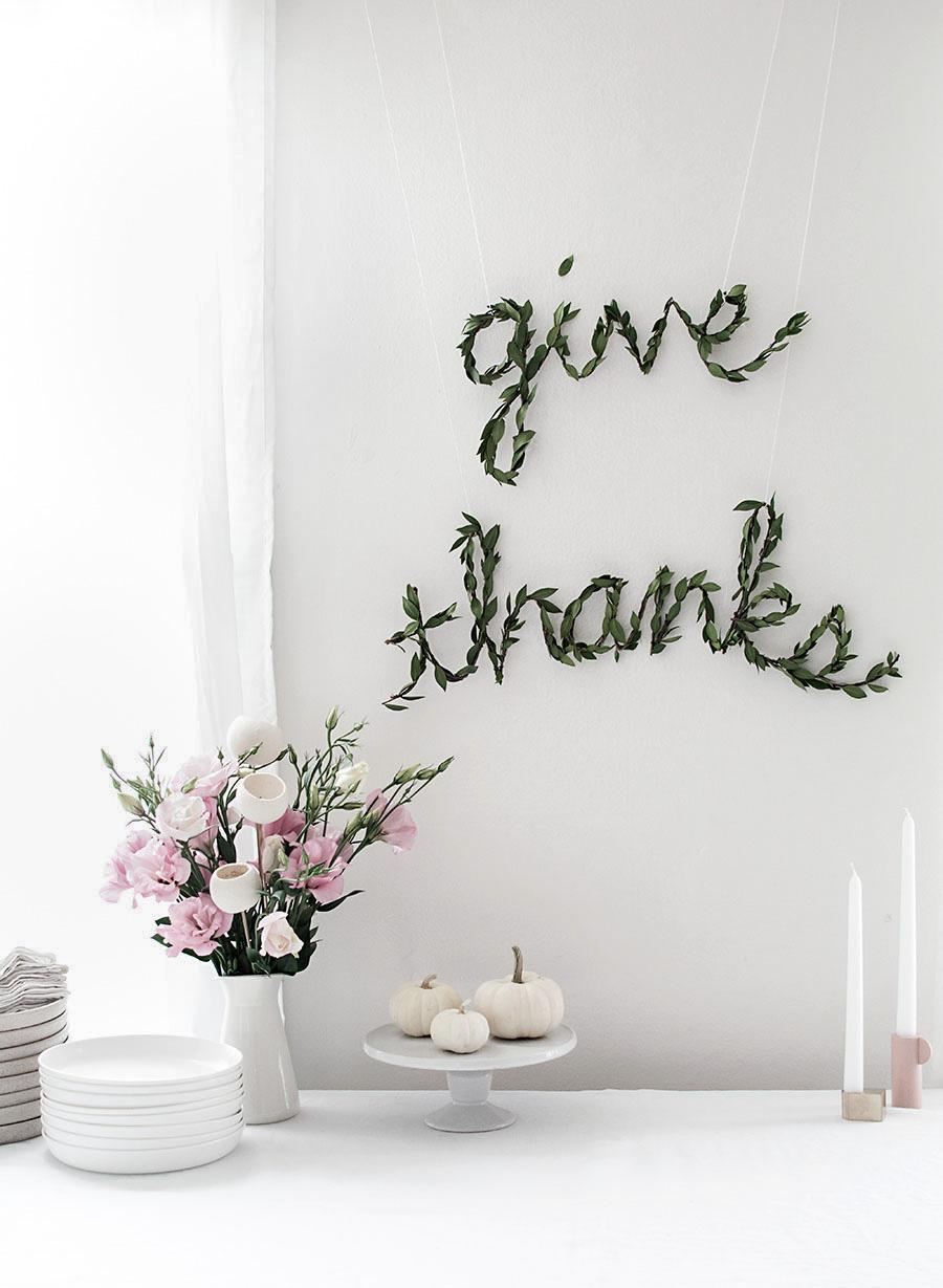10 Modern Thanksgiving Decor Ideas