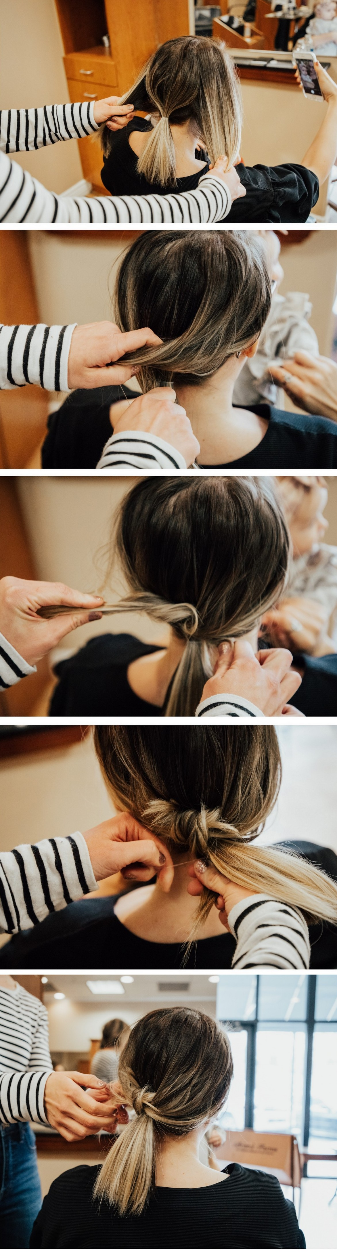 Knotted Pony Tail How To