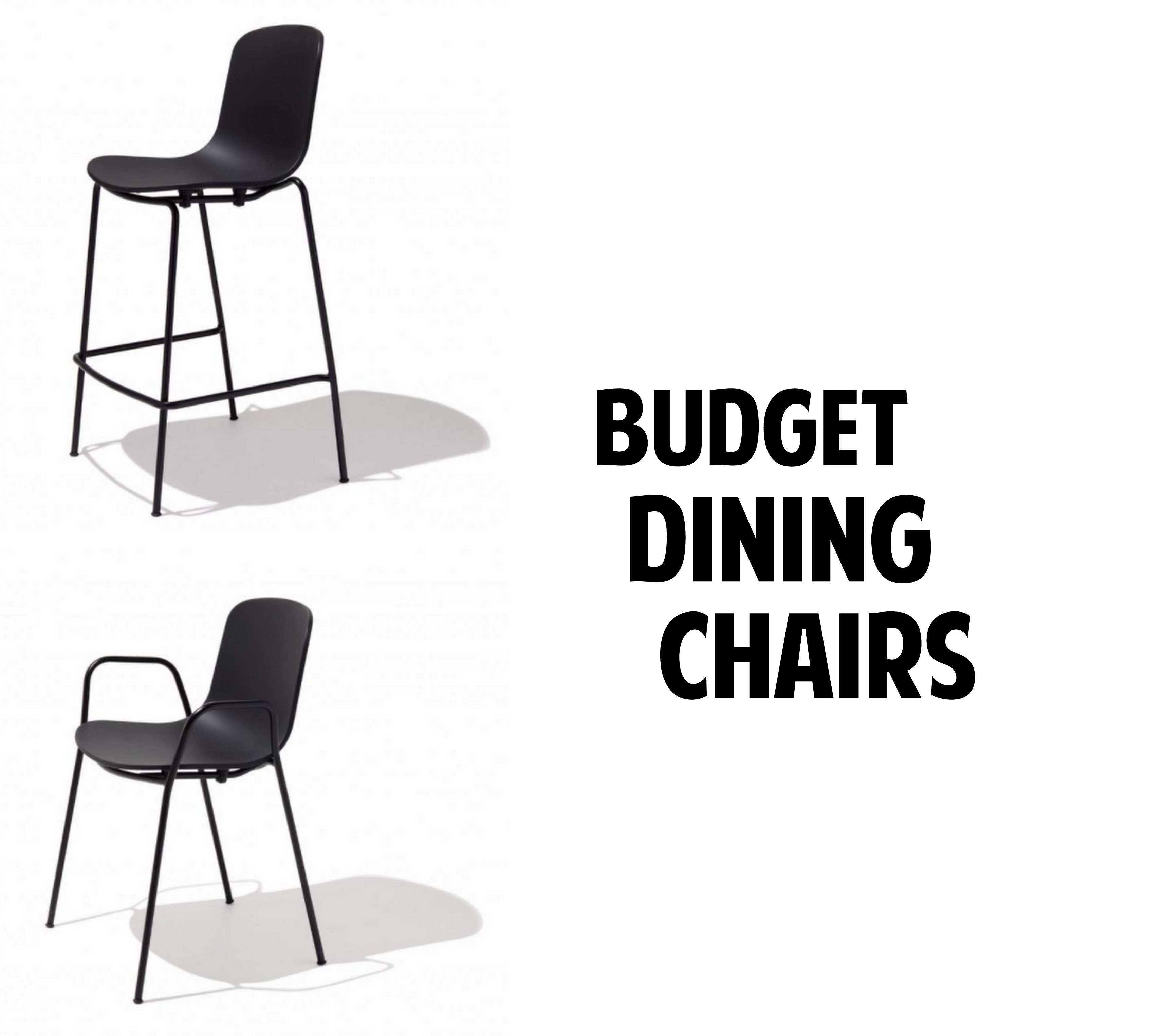 Modern Budget Dining Chairs