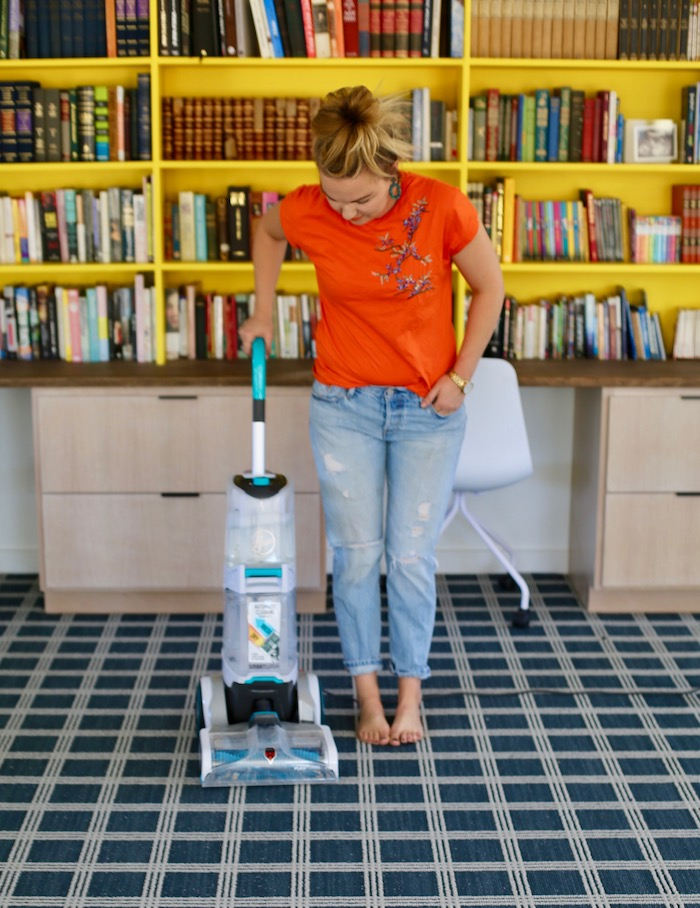 at home carpet cleaning