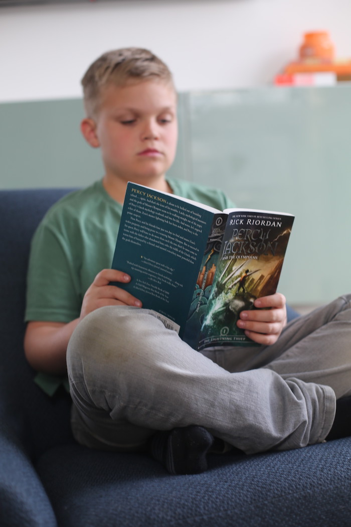 Percy Jackson Summer Reading Challenge
