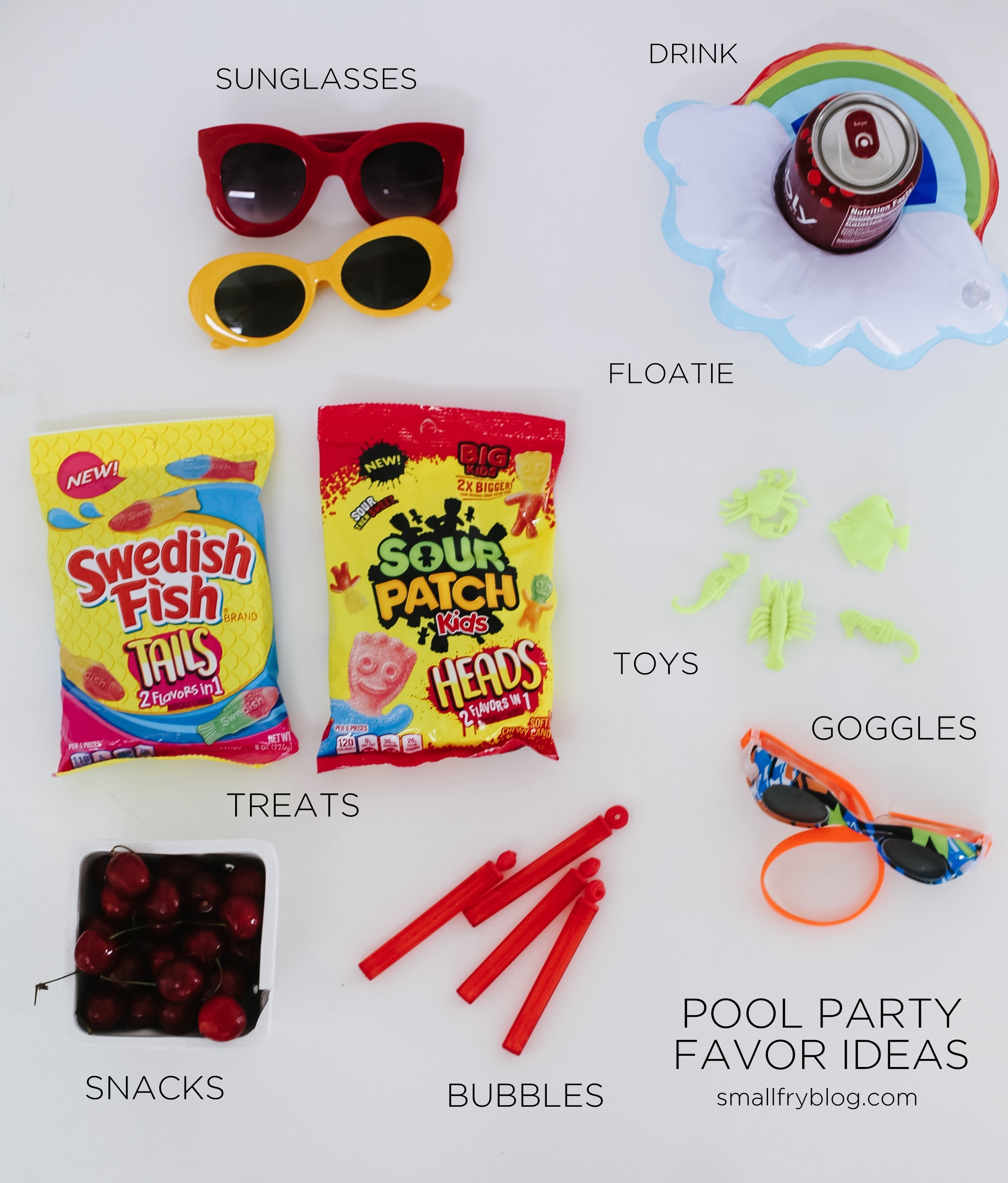 Pool Party Favor Ideas