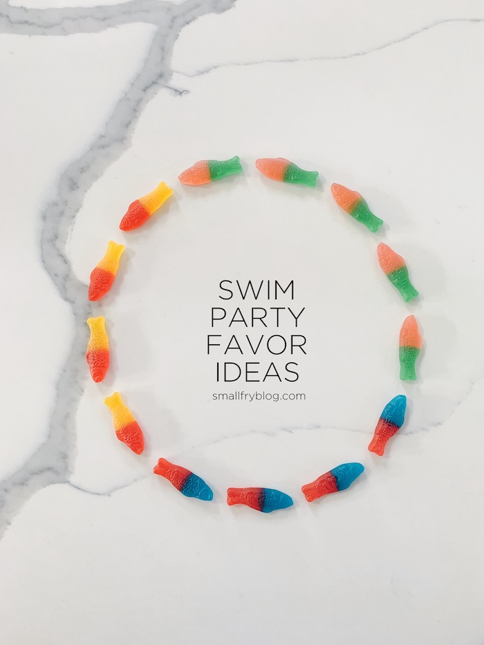 Swim Party Favor Ideas