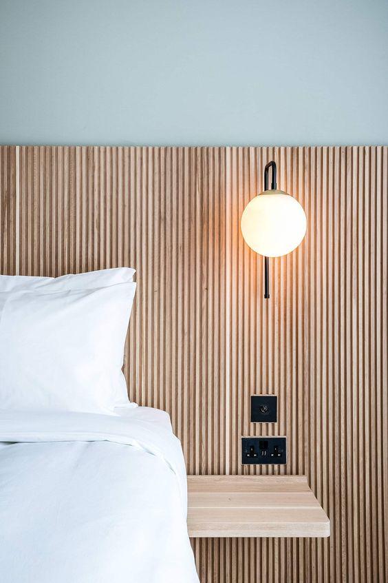 Modern Master Bed + Headboard