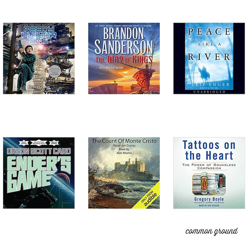 Audiobooks for Road Trips