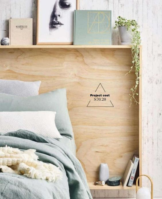 Plywood Bed Frame