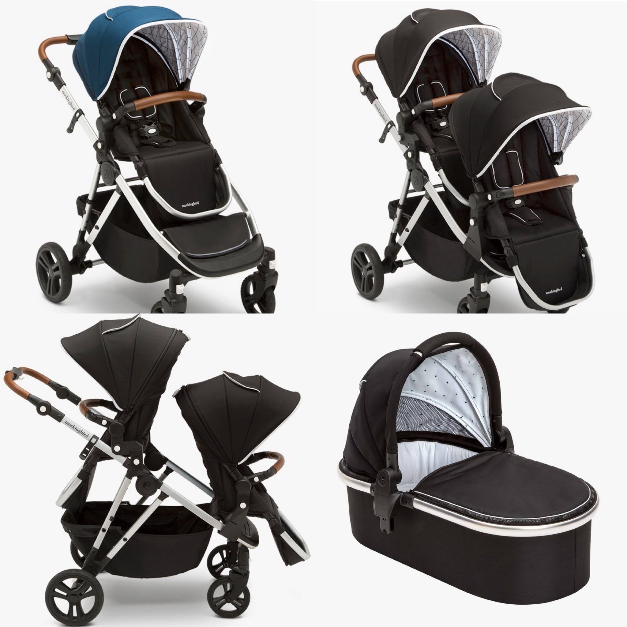 Mockingbird Double Stroller (under $500) | Small Fry
