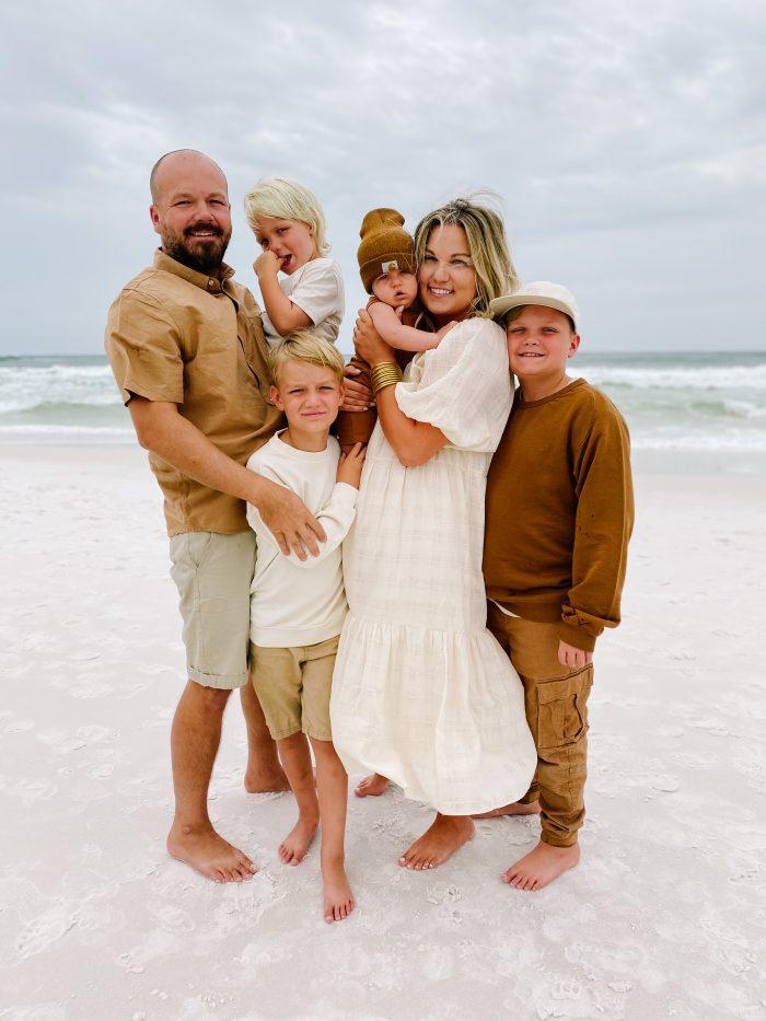Beach Family Photo | Small Fry