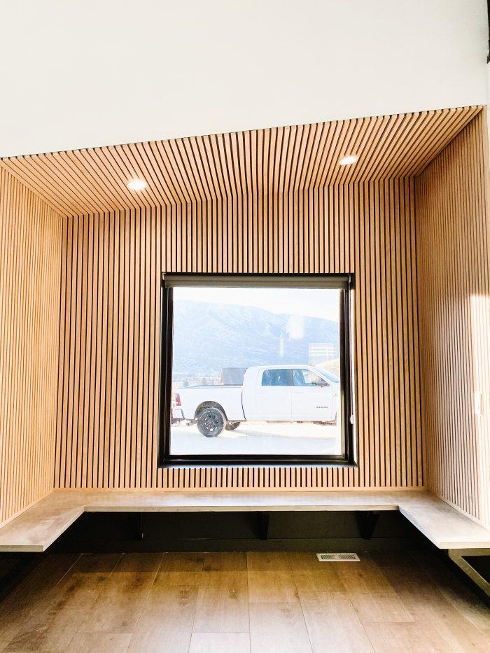 Timber Cladding DIY | Modern Dining Nook
